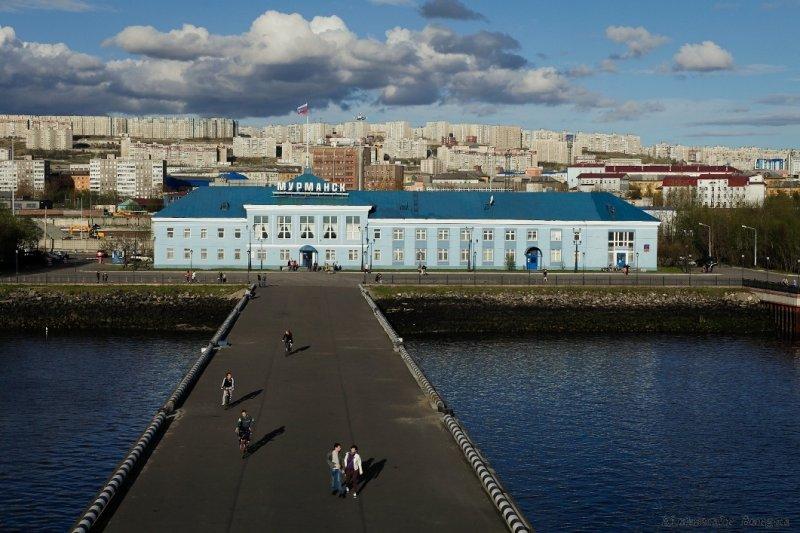 Морской вокзал в Мурманске